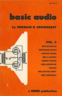 Crowhurst - Basic Audio vol 2 1959