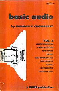 Crowhurst - Basic Audio vol 3 1959