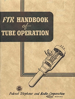 FTR - Handbook of tube operation 2nd 1944