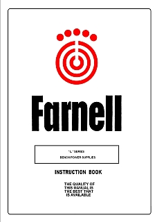 Farnell - L series Bench Power Supplies