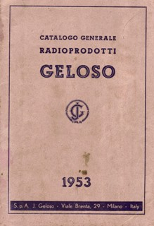 Catalogo Radioprodotti Geloso