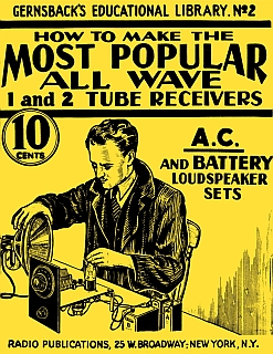 Gernsback - Tube Receivers 1938