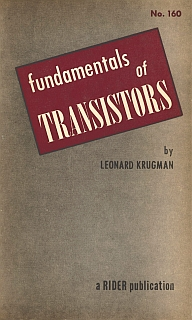 Krugman - Fundamentals of Transistors 1954