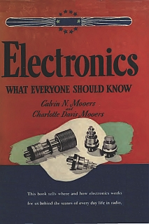 Mooers - Electronics what Everyone Should Know 1946