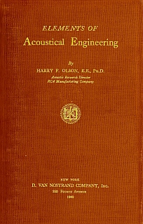 Olson - Elements of Acoustical Engineering 1940