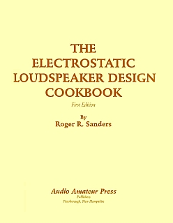Sanders - Electrostatic Loudspeaker Design Cookbook