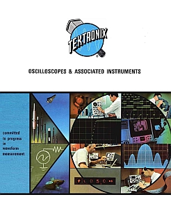 Tektronix - Catalogo oscilloscopi 1968 1969