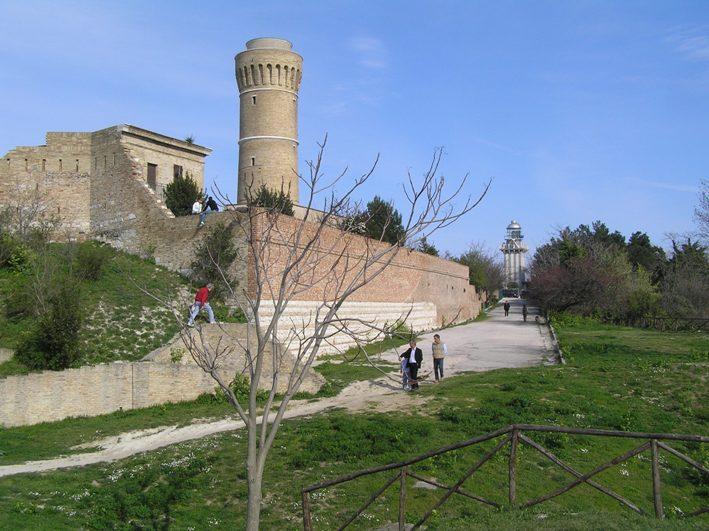 Il vecchio faro di Ancona