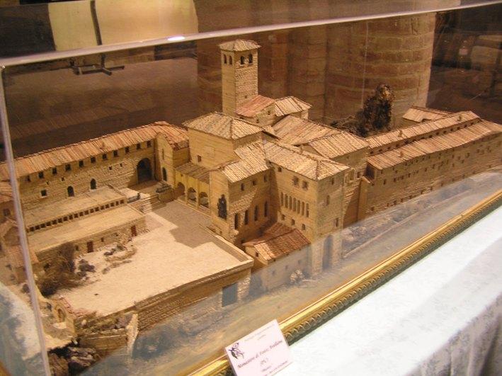 modellino costruzioni antiche