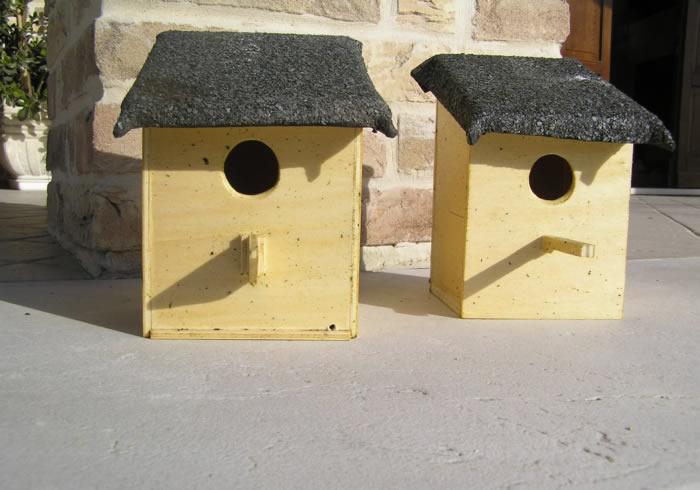 nidi artificiali per uccelli - artificial nest