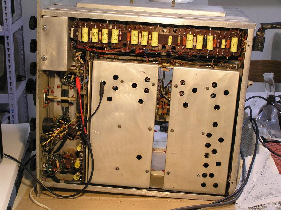 Condensatori sostituiti