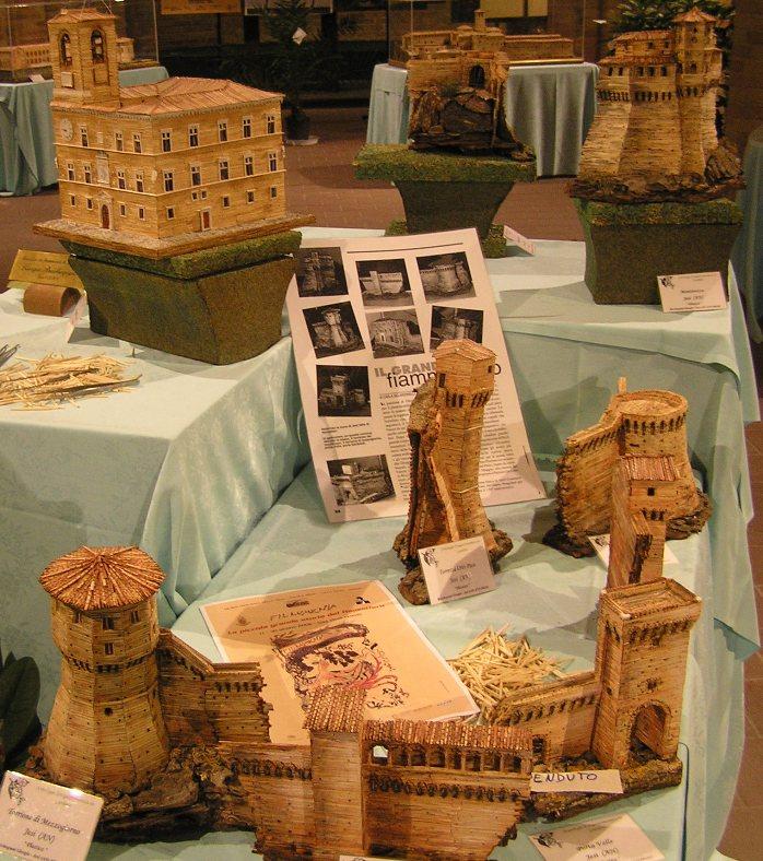 modellini antiche torri